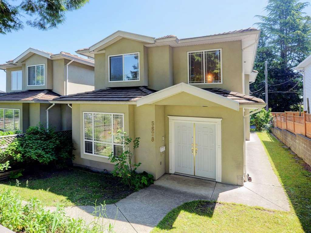 Main Photo: 5678 NELSON Avenue in Burnaby: Forest Glen BS House 1/2 Duplex for sale (Burnaby South)  : MLS®# R2502082