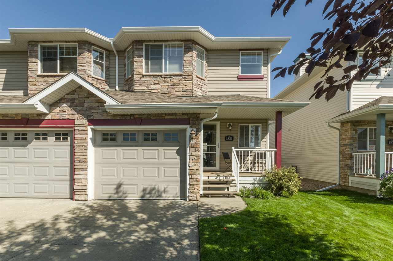 Main Photo: 1831 119 Street in Edmonton: Zone 55 House Half Duplex for sale : MLS®# E4170625