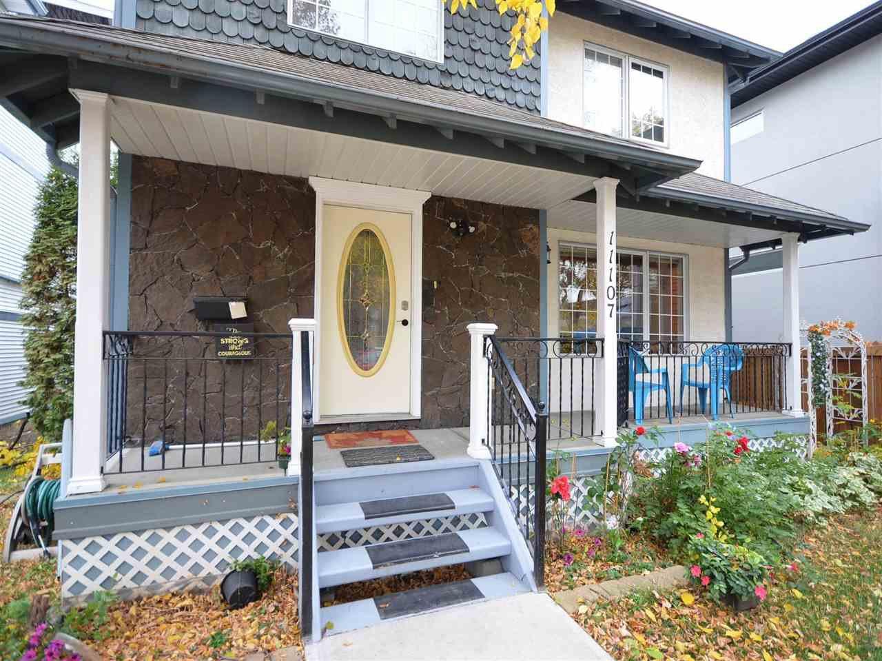 Main Photo: 11107 UNIVERSITY Avenue in Edmonton: Zone 15 House for sale : MLS®# E4224990