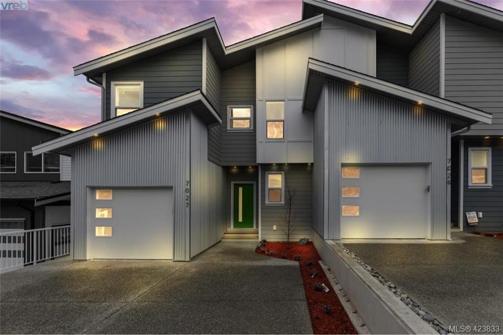 Main Photo: 7027 Brailsford Place in SOOKE: Sk Sooke Vill Core Half Duplex for sale (Sooke)  : MLS®# 423833