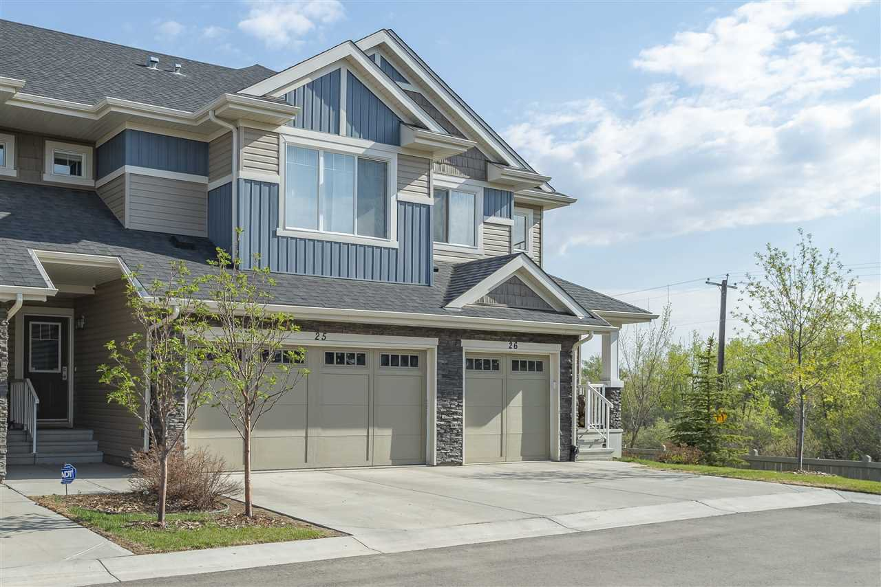 Main Photo: 25 2004 Trumpeter Way in Edmonton: Zone 59 Townhouse for sale : MLS®# E4169967