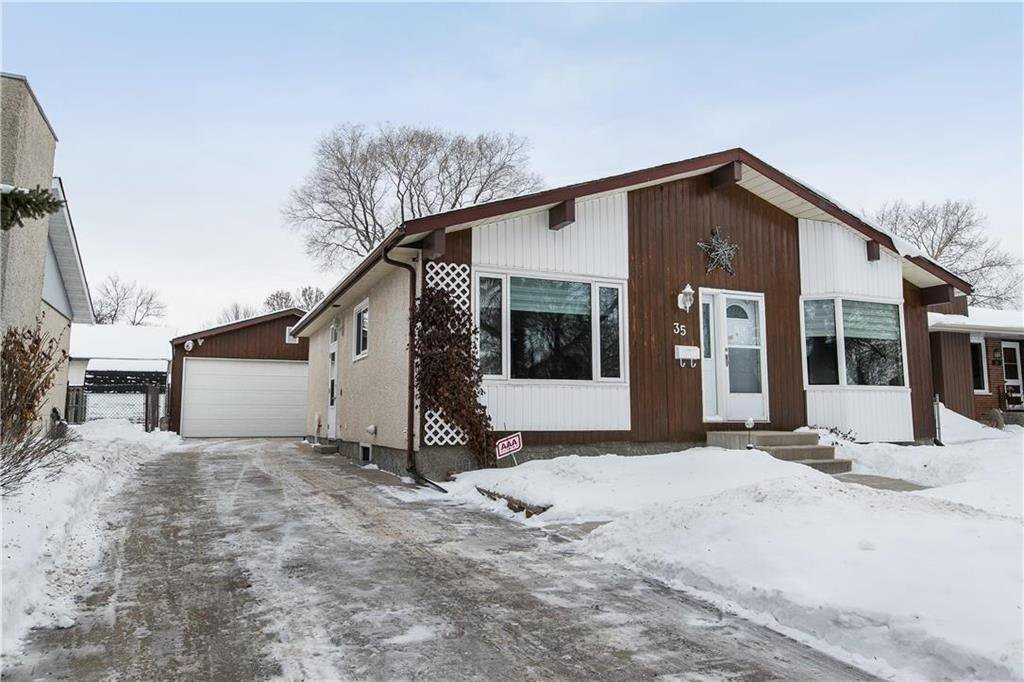 Main Photo: 35 Whitley Drive in Winnipeg: Meadowood Residential for sale (2E)  : MLS®# 202002464