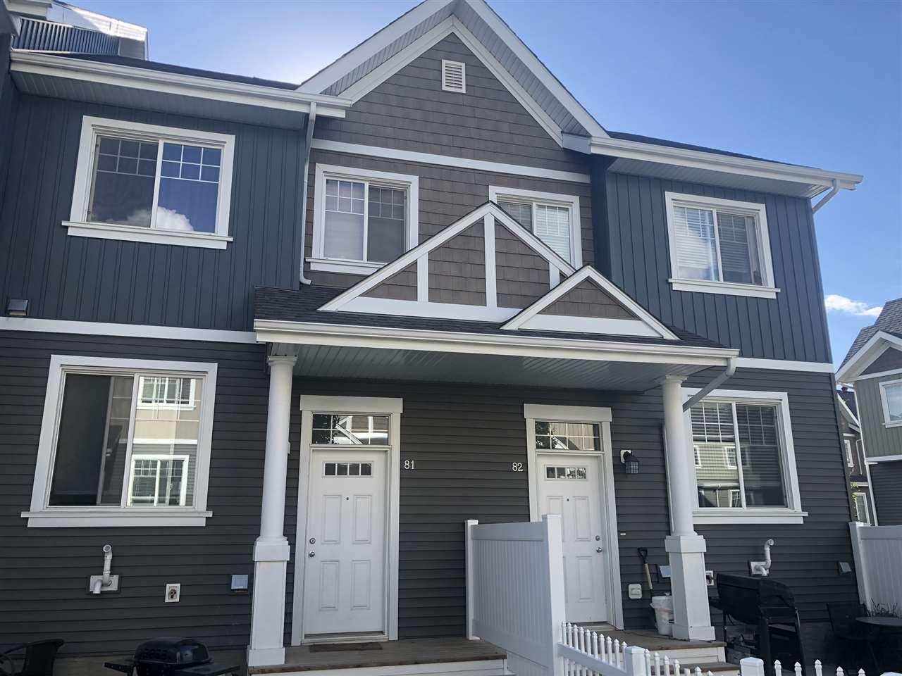 Main Photo: 81 4050 SAVARYN Drive in Edmonton: Zone 53 Townhouse for sale : MLS®# E4225032