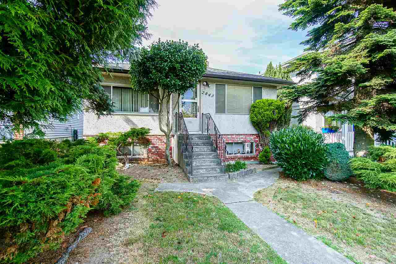 Main Photo: 2843 E 5TH Avenue in Vancouver: Renfrew VE House for sale (Vancouver East)  : MLS®# R2391370