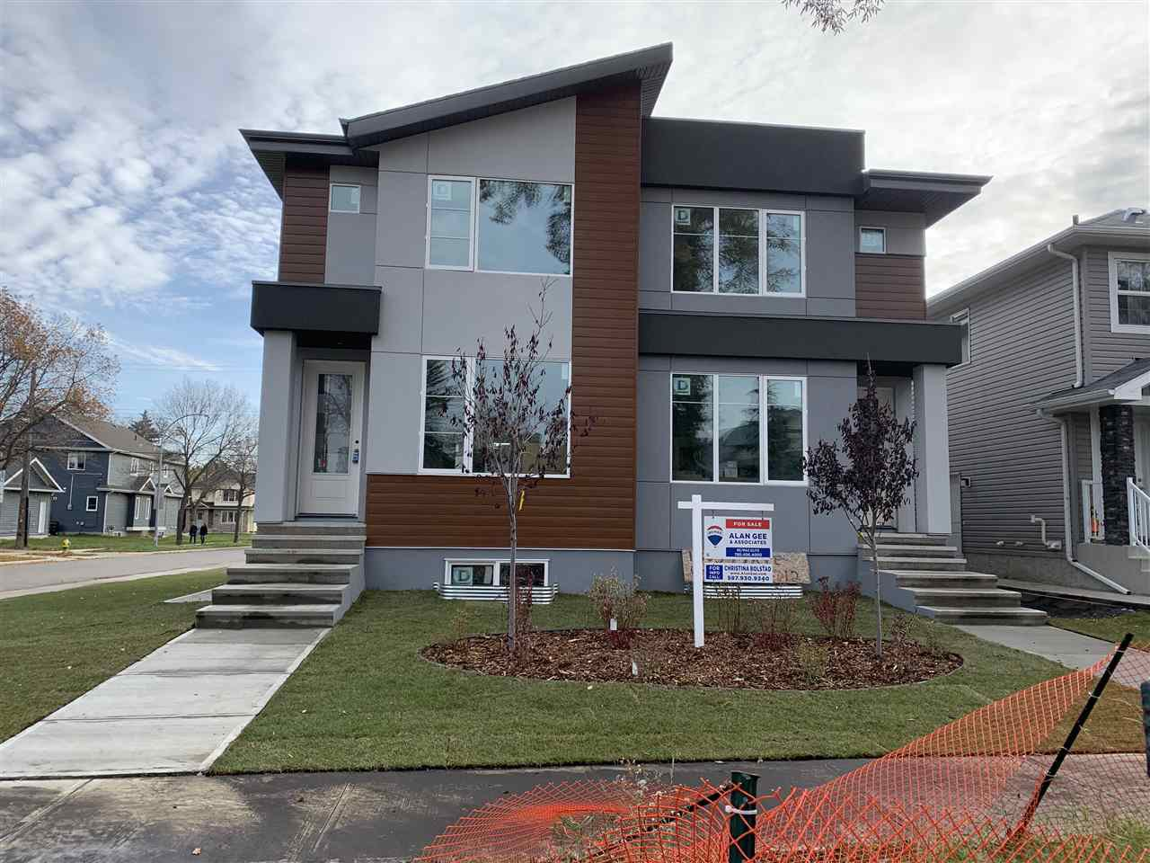 Main Photo: 11305 79 Avenue in Edmonton: Zone 15 House Half Duplex for sale : MLS®# E4174015