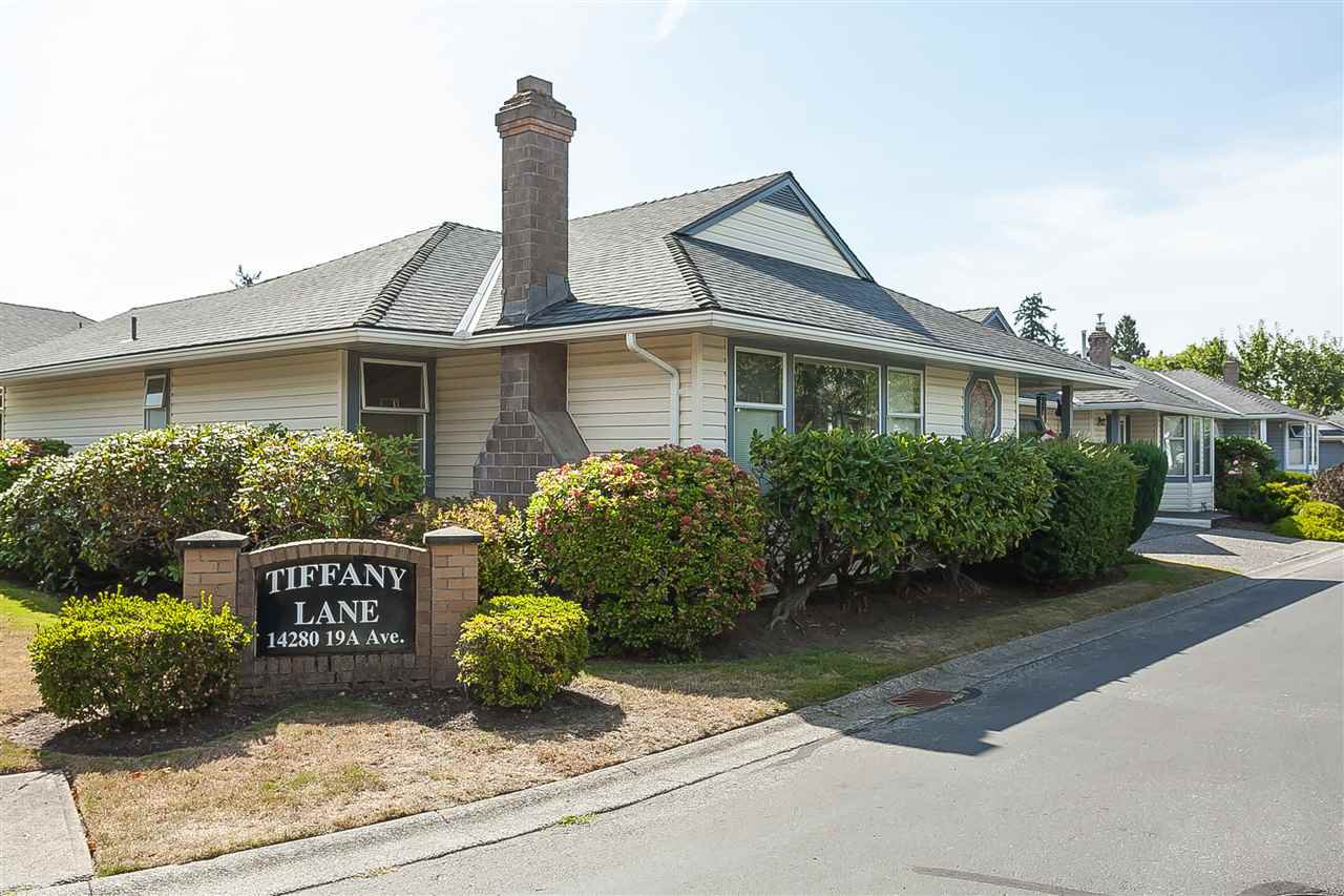 "Main Photo: 116 14280 19A Avenue in Surrey: Sunnyside Park Surrey Townhouse for sale in ""TIFFANY LANE"" (South Surrey White Rock)  : MLS®# R2407441"