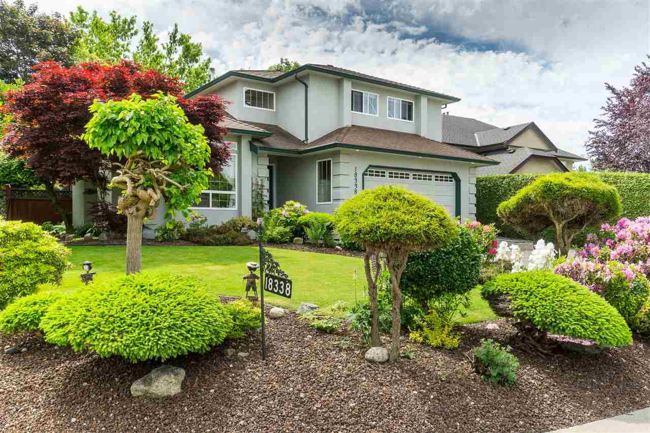 Main Photo: 18338 CLAYTONWOOD Crescent in Surrey: Cloverdale BC House for sale (Cloverdale)  : MLS®# R2460942