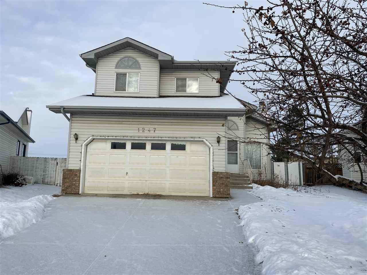 Main Photo: 1247 JOYCE Crescent in Edmonton: Zone 29 House for sale : MLS®# E4223154