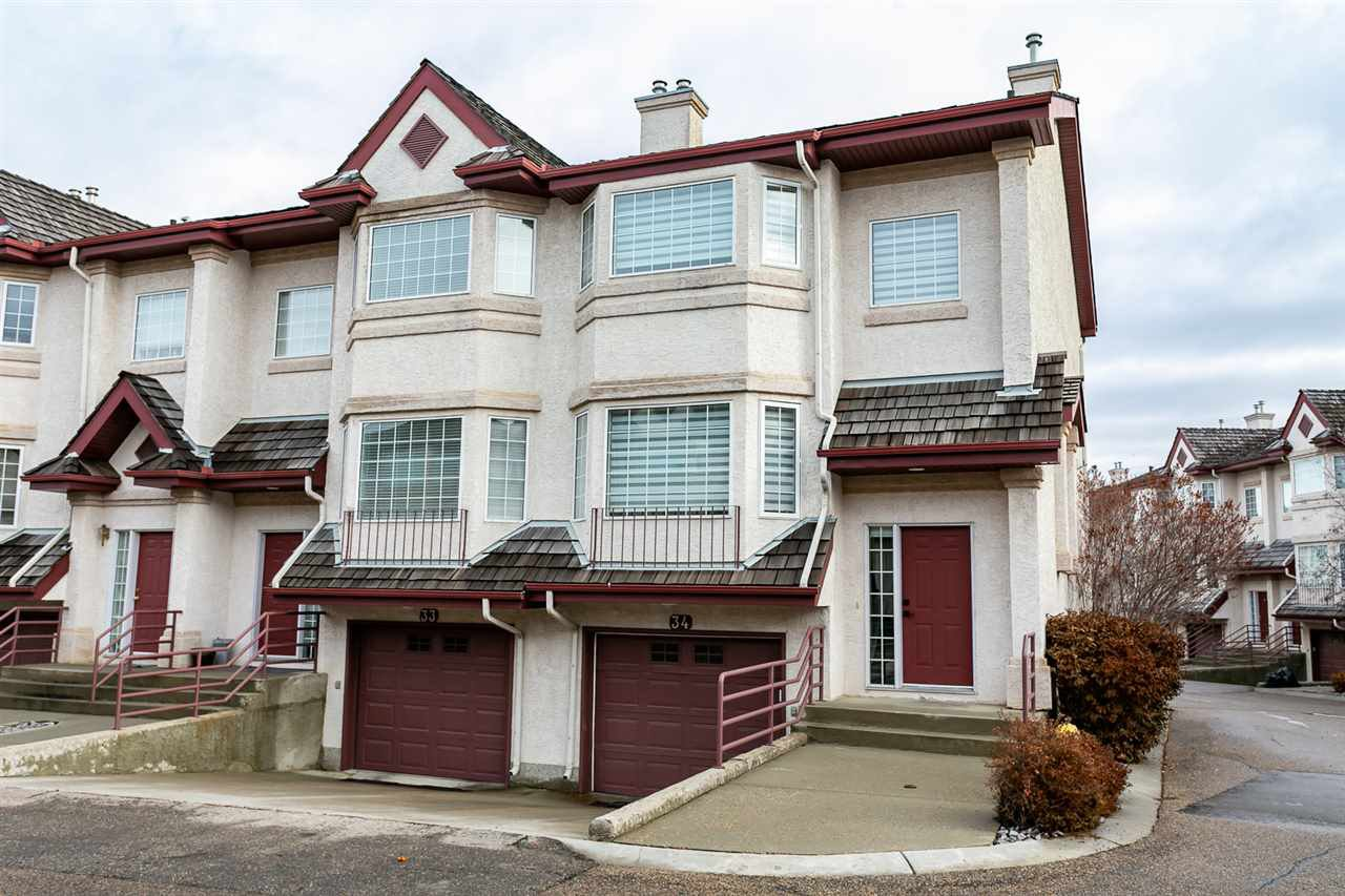 Main Photo: 34 1237 CARTER CREST Road in Edmonton: Zone 14 Townhouse for sale : MLS®# E4179861