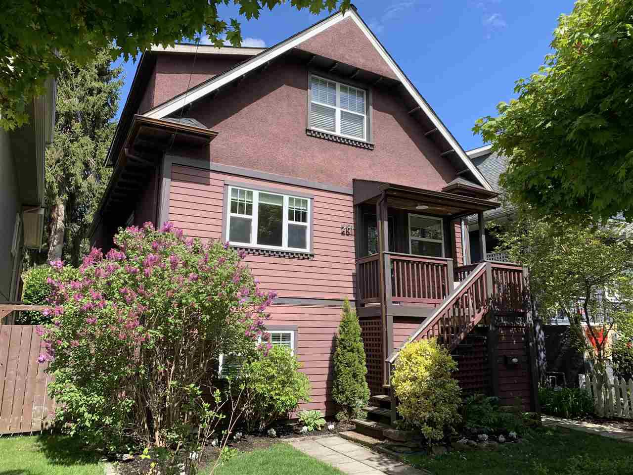 Main Photo: 281 E 32ND Avenue in Vancouver: Main House for sale (Vancouver East)  : MLS®# R2452265