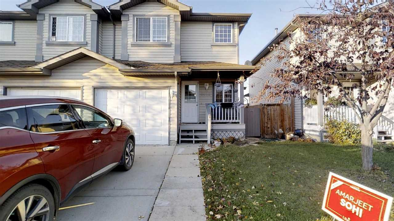 Main Photo: 3022 31 Avenue in Edmonton: Zone 30 House Half Duplex for sale : MLS®# E4177042