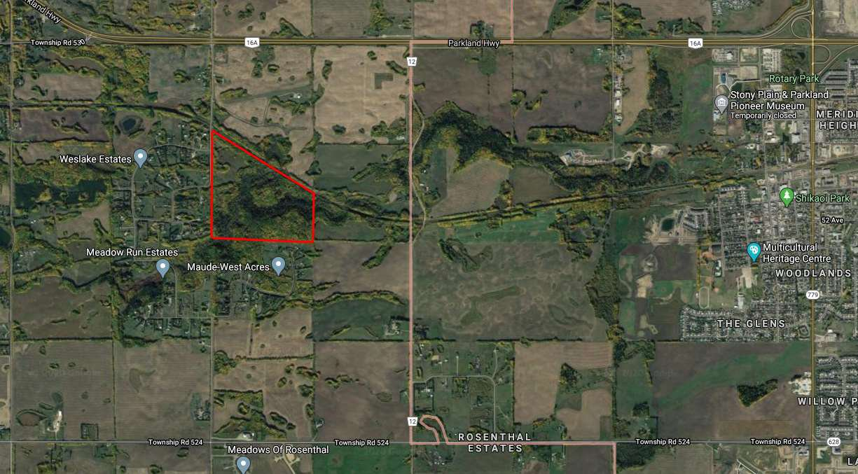 Main Photo: HWY 16A RR 13 SW Section: Rural Parkland County Rural Land/Vacant Lot for sale : MLS®# E4198812