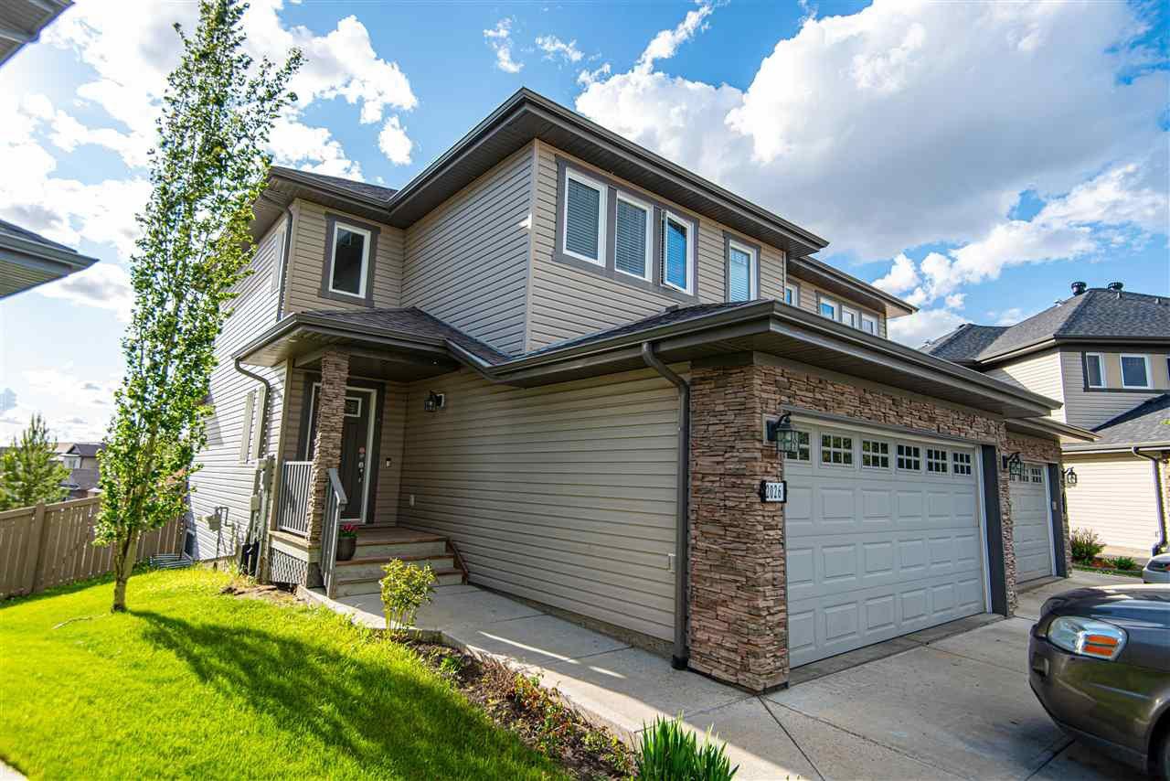 Main Photo: 2026 69A Street SW in Edmonton: Zone 53 House Half Duplex for sale : MLS®# E4200754