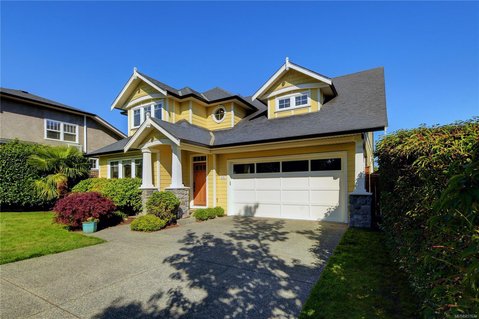 Main Photo: 4010 South Valley Dr in : SW Strawberry Vale House for sale (Saanich West)  : MLS®# 857679