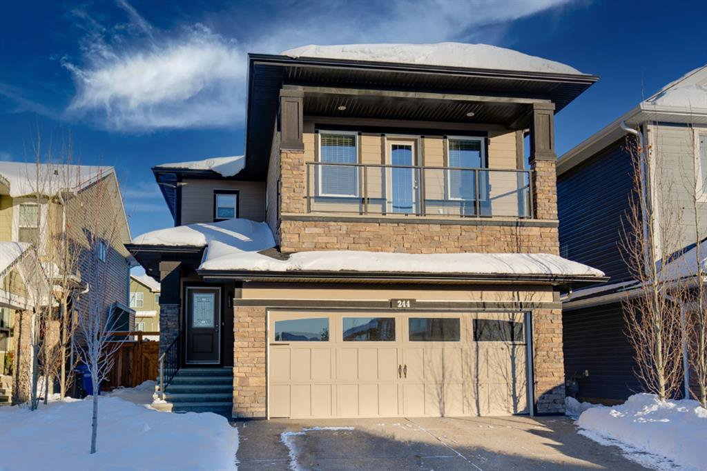 Main Photo: 244 Sandstone Drive: Okotoks Detached for sale : MLS®# A1056775