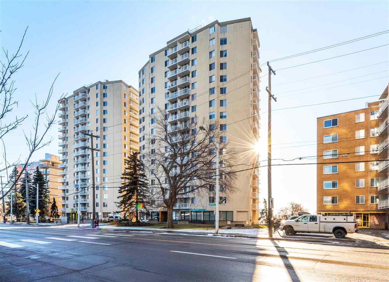 Main Photo: 801 12141 JASPER Avenue in Edmonton: Zone 12 Condo for sale : MLS®# E4180641
