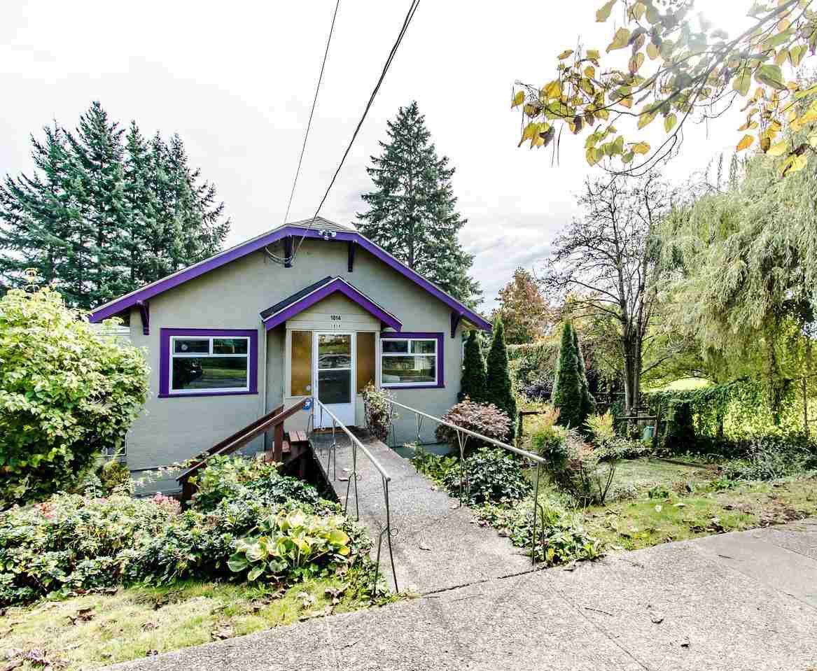 Main Photo: 1814 SEVENTH Avenue in New Westminster: West End NW House for sale : MLS®# R2412350