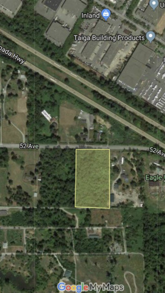Main Photo: LOT 6 52AVE Avenue in Langley: Salmon River Land for sale : MLS®# R2433741