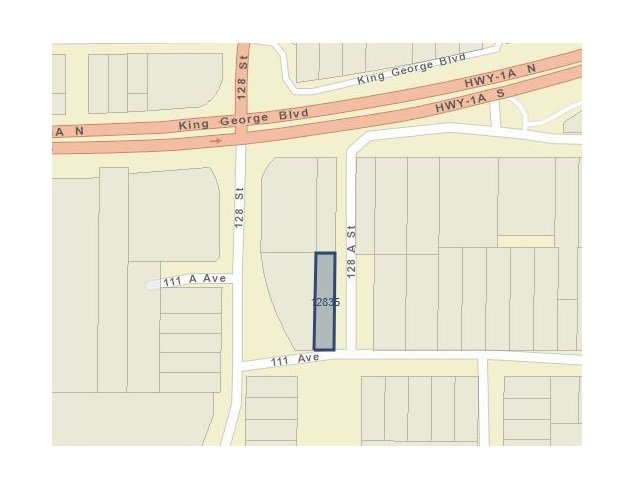 Main Photo: 12835 111 Avenue in Surrey: Whalley Land Commercial for sale (North Surrey)  : MLS®# C8032721