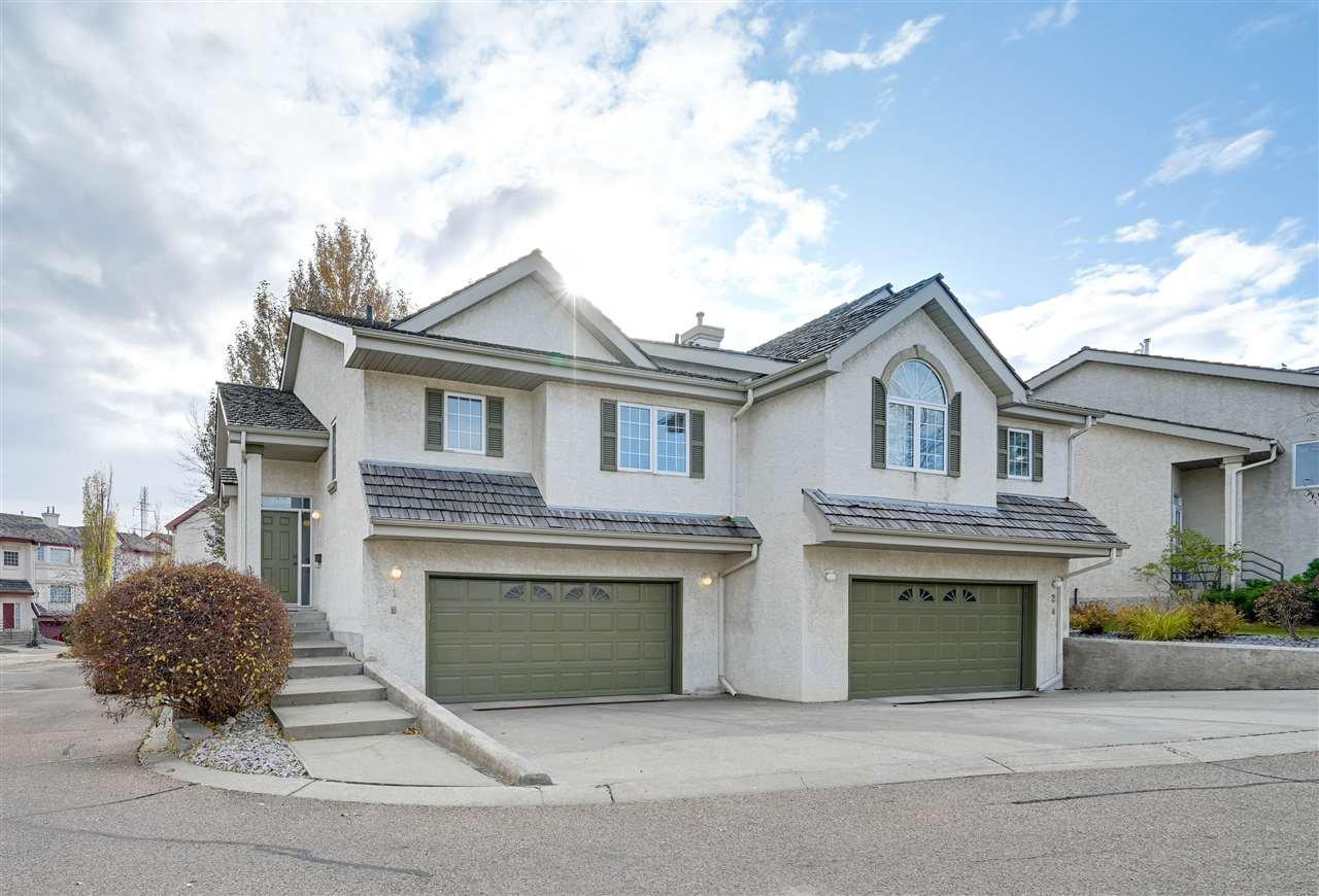 Main Photo: 1 1283 Carter Crest Rd in Edmonton: Zone 14 House Half Duplex for sale : MLS®# E4178411