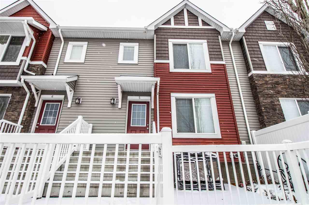 Main Photo: 5 3625 144 Avenue in Edmonton: Zone 35 Townhouse for sale : MLS®# E4181091