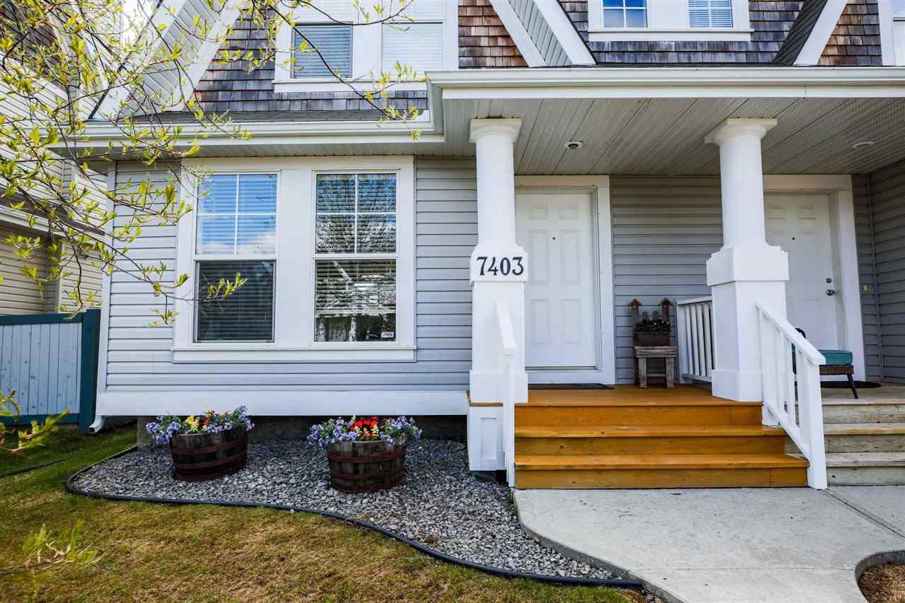 Main Photo: 7403 16 Avenue in Edmonton: Zone 53 House Half Duplex for sale : MLS®# E4197144