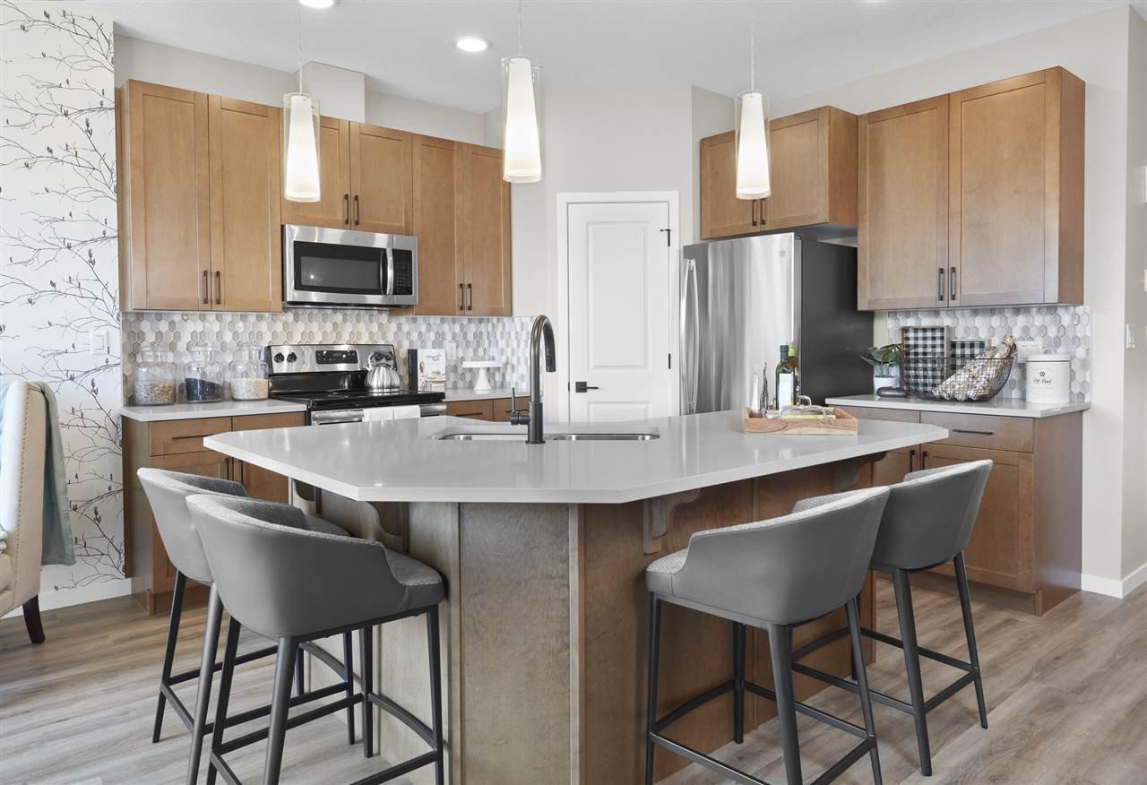 Main Photo: 7530 Elmer Bend in Edmonton: Zone 57 House Half Duplex for sale : MLS®# E4209390