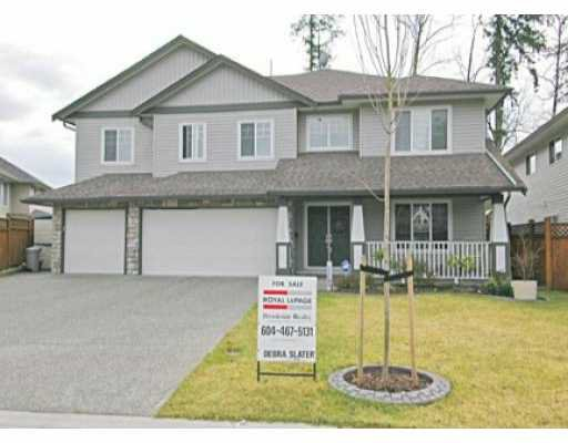 "Main Photo: 11580 CREEKSIDE ST in Maple Ridge: Cottonwood MR House for sale in ""CREEKSIDE"" : MLS®# V524762"