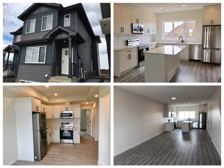 Main Photo: 309 Orchards Boulevard in Edmonton: Zone 53 House Half Duplex for sale : MLS®# E4171246