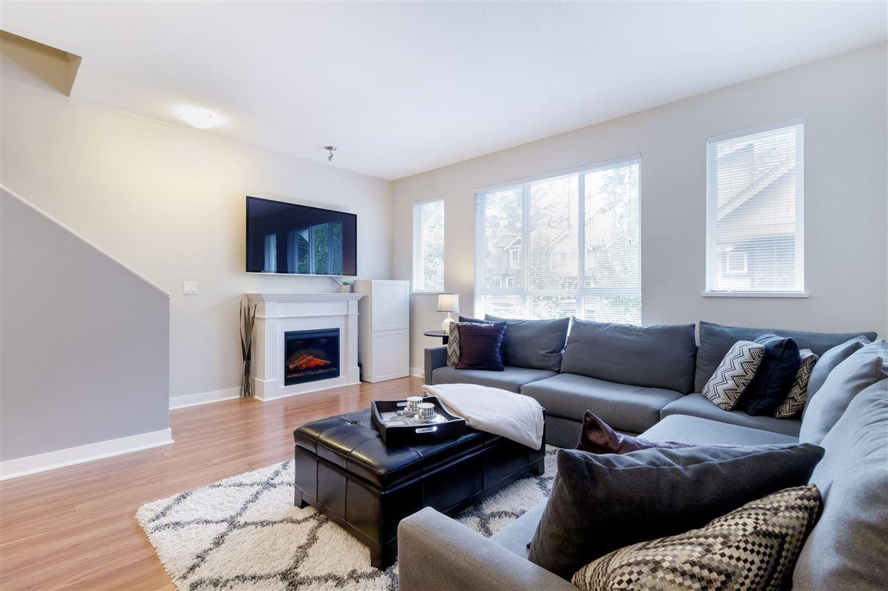 "Main Photo: 115 1480 SOUTHVIEW Street in Coquitlam: Burke Mountain Townhouse for sale in ""CEDAR CREEK"" : MLS®# R2464281"