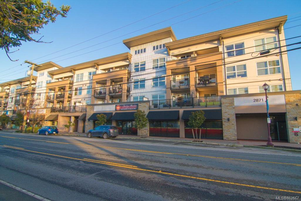 Main Photo: 316 2871 Jacklin Rd in : La Langford Proper Condo for sale (Langford)  : MLS®# 862667