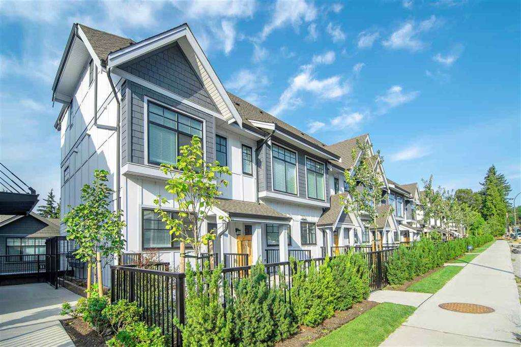 Main Photo: 5 5132 CANADA Way in Burnaby: Burnaby Lake Townhouse for sale (Burnaby South)  : MLS®# R2417874