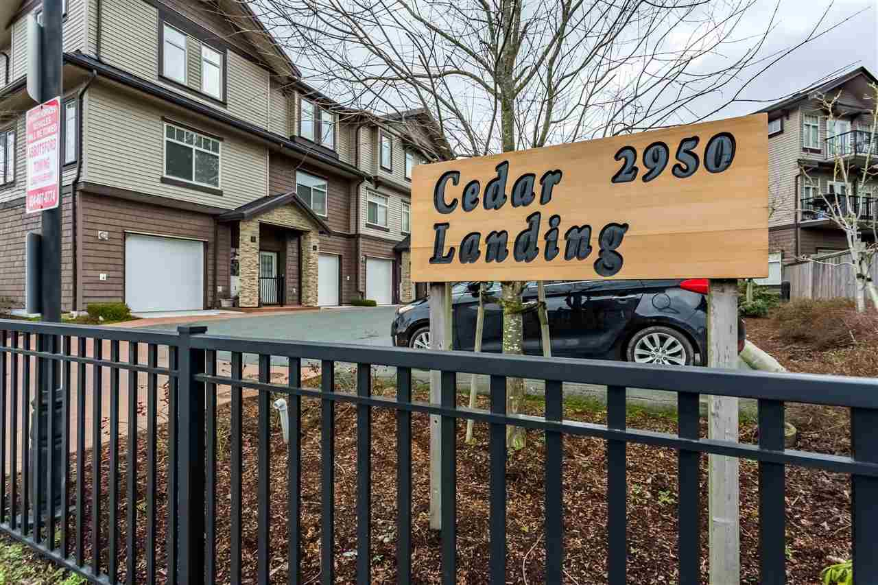 """Main Photo: 16 2950 LEFEUVRE Road in Abbotsford: Aberdeen Townhouse for sale in """"Cedar Landing"""" : MLS®# R2435688"""