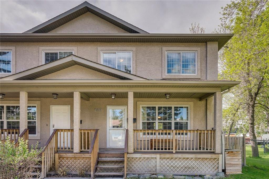 Main Photo: 2419 53 Avenue SW in Calgary: North Glenmore Park Semi Detached for sale : MLS®# C4299769