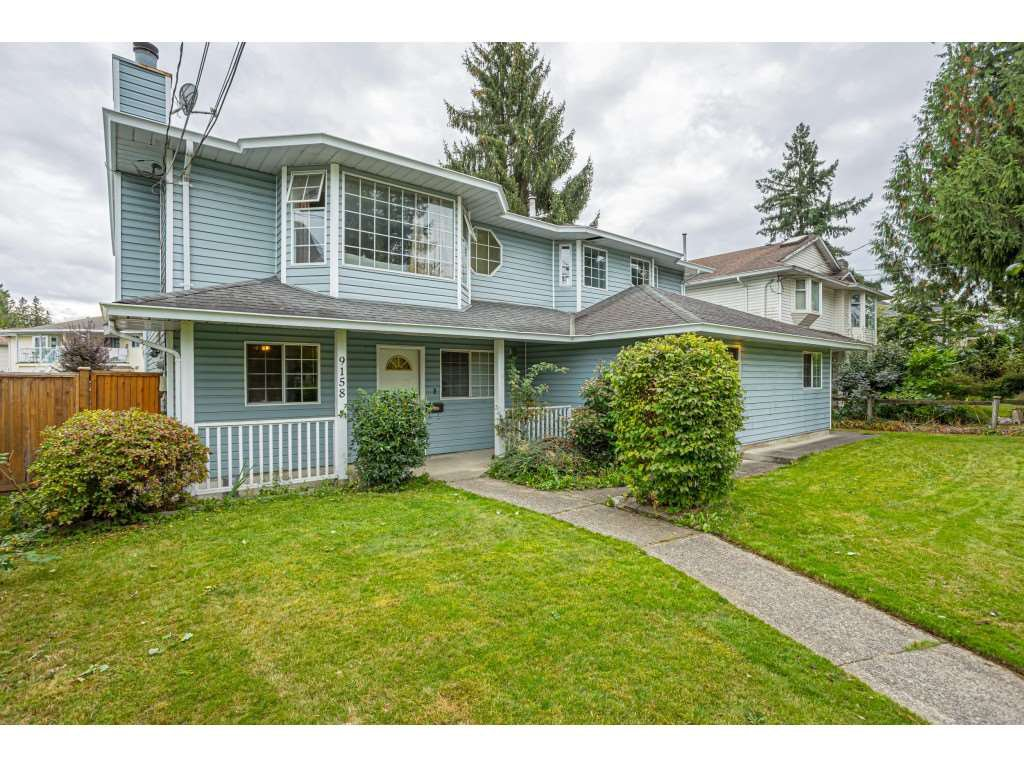 "Main Photo: 9158 156 Street in Surrey: Fleetwood Tynehead House for sale in ""Fleetwood"" : MLS®# R2507584"