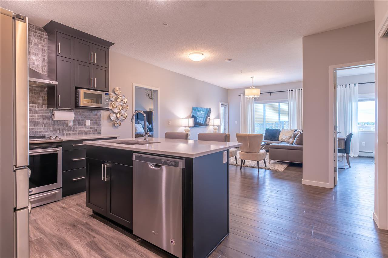 Main Photo: 436 1818 RUTHERFORD Road in Edmonton: Zone 55 Condo for sale : MLS®# E4215073