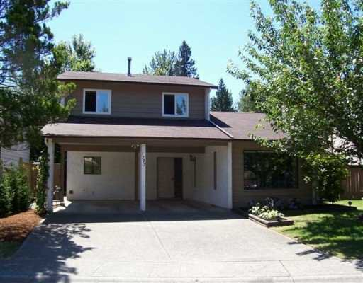"""Main Photo: 1227 BRIAN DR in Coquitlam: River Springs House for sale in """"RIVER SPRINGS"""" : MLS®# V598993"""