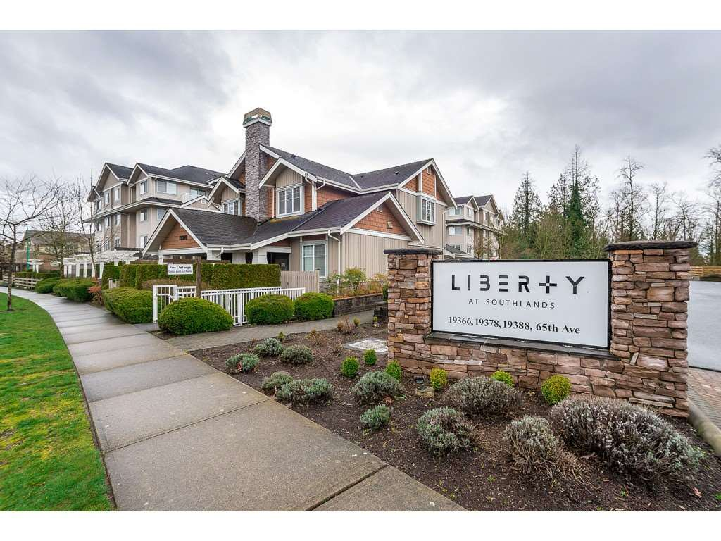 """Main Photo: 203 19388 65 Avenue in Surrey: Clayton Condo for sale in """"Liberty"""" (Cloverdale)  : MLS®# R2465978"""