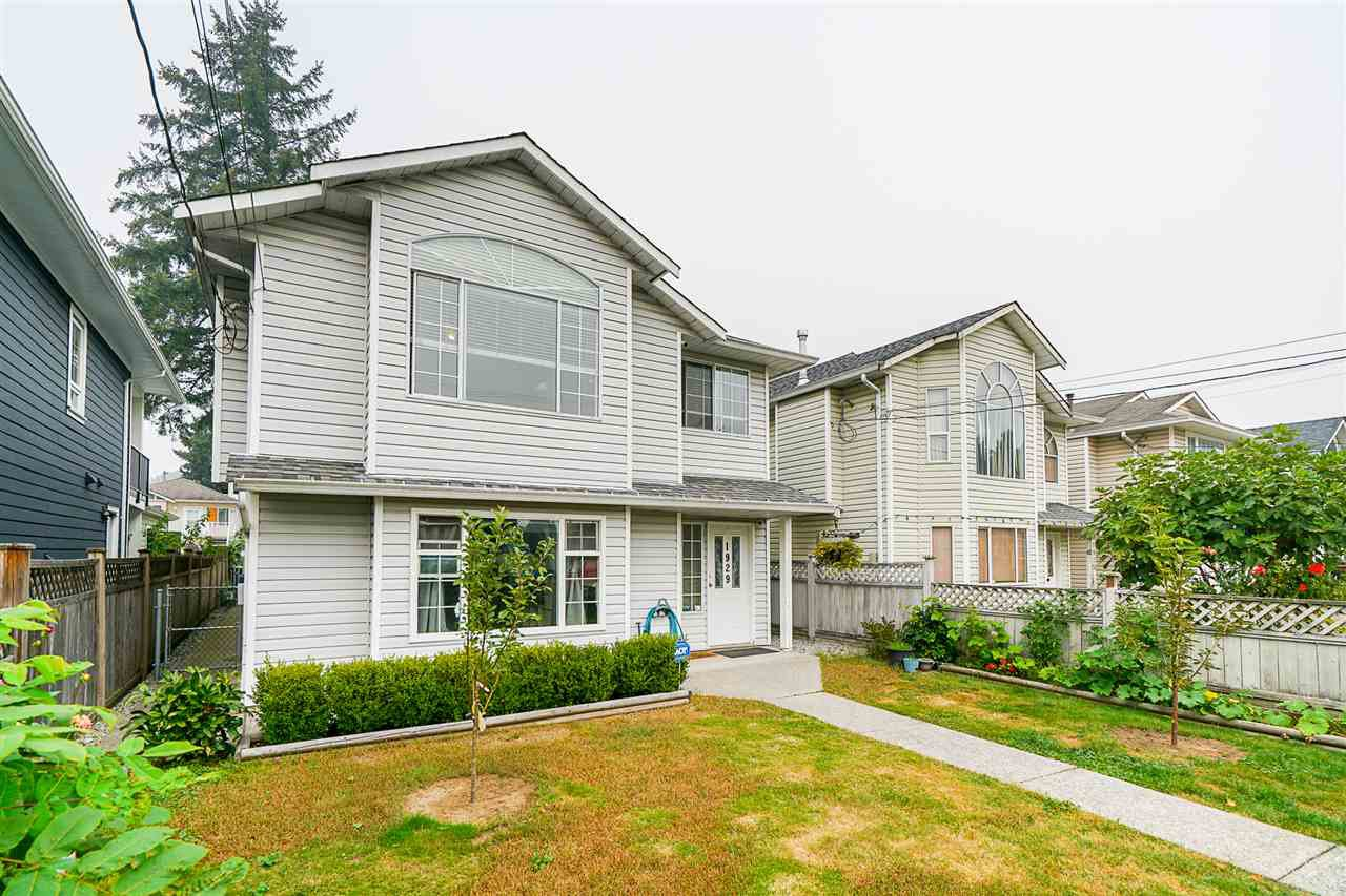 Main Photo: 1929 MANNING Avenue in Port Coquitlam: Glenwood PQ House for sale : MLS®# R2498569