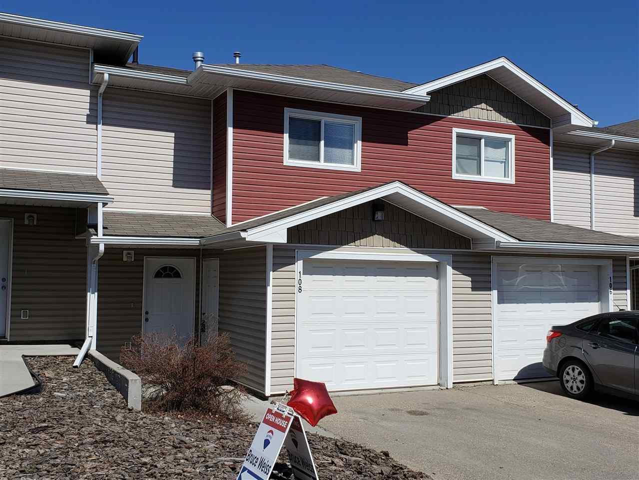 Main Photo: 108 166 BRIDGEPORT Boulevard: Leduc Townhouse for sale : MLS®# E4174092