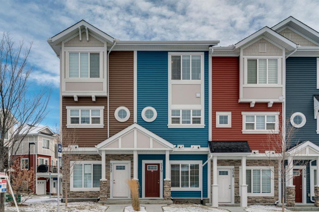 Main Photo: 510 Nolan Hill Boulevard NW in Calgary: Nolan Hill Row/Townhouse for sale : MLS®# A1050791