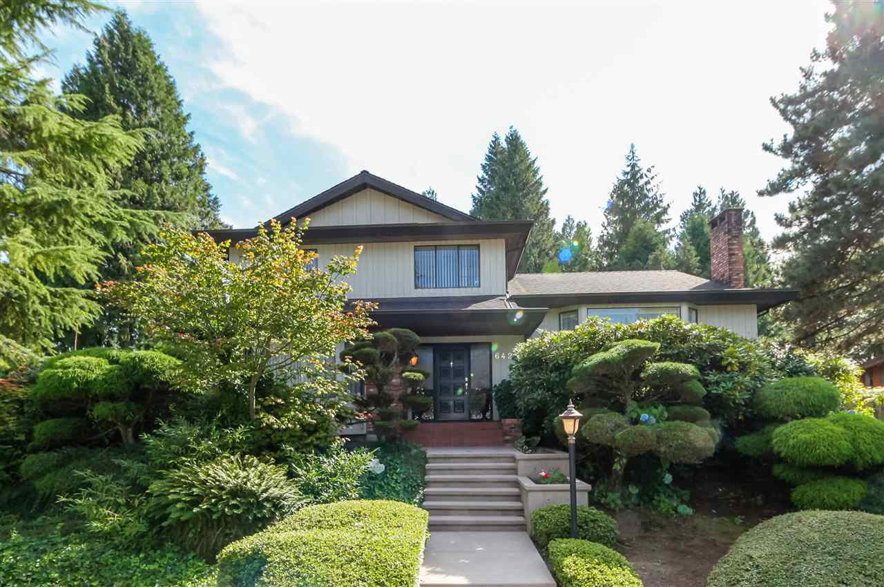 "Main Photo: 6427 CHAUCER Place in Burnaby: Buckingham Heights House for sale in ""BUCKINGHAM HEIGHTS"" (Burnaby South)  : MLS®# R2402658"