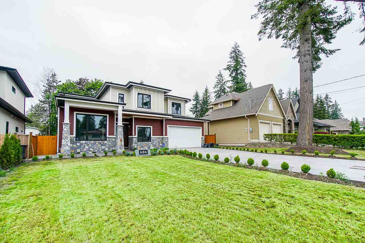 Main Photo: 686 PORTER Street in Coquitlam: Central Coquitlam House for sale : MLS®# R2411831
