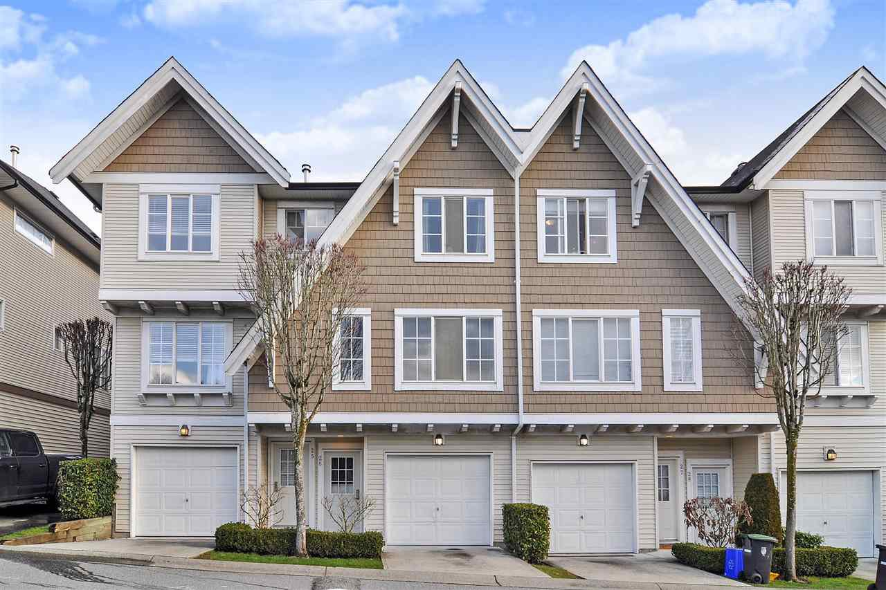 "Main Photo: 26 20560 66 Avenue in Langley: Willoughby Heights Townhouse for sale in ""Amberleigh"" : MLS®# R2433580"