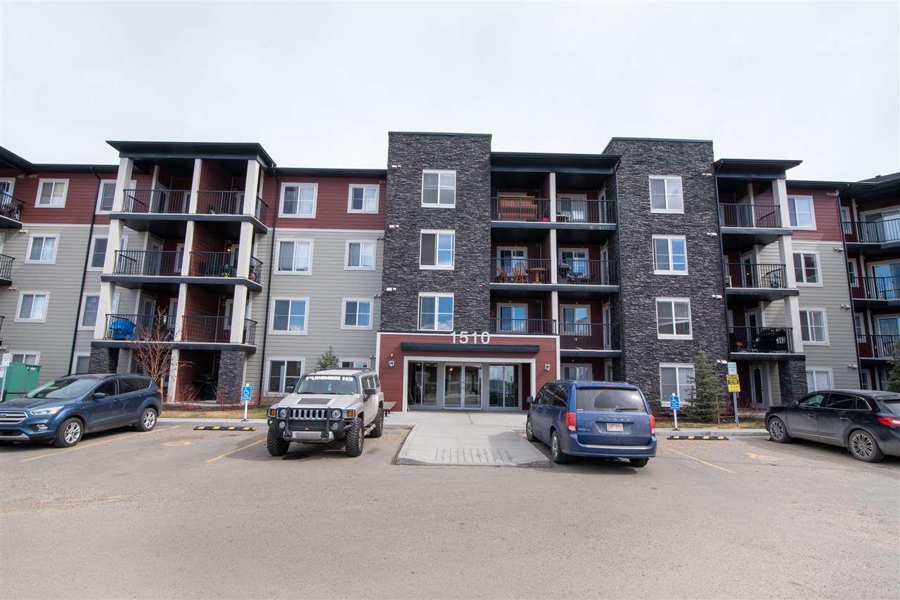 Main Photo: 411 1510 watt Drive in Edmonton: Zone 53 Condo for sale : MLS®# E4190695