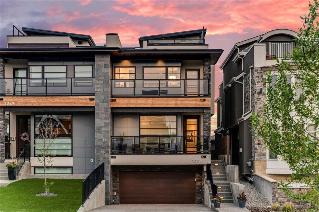 Main Photo: 2031 29 Avenue SW in Calgary: South Calgary Semi Detached for sale : MLS®# C4296565