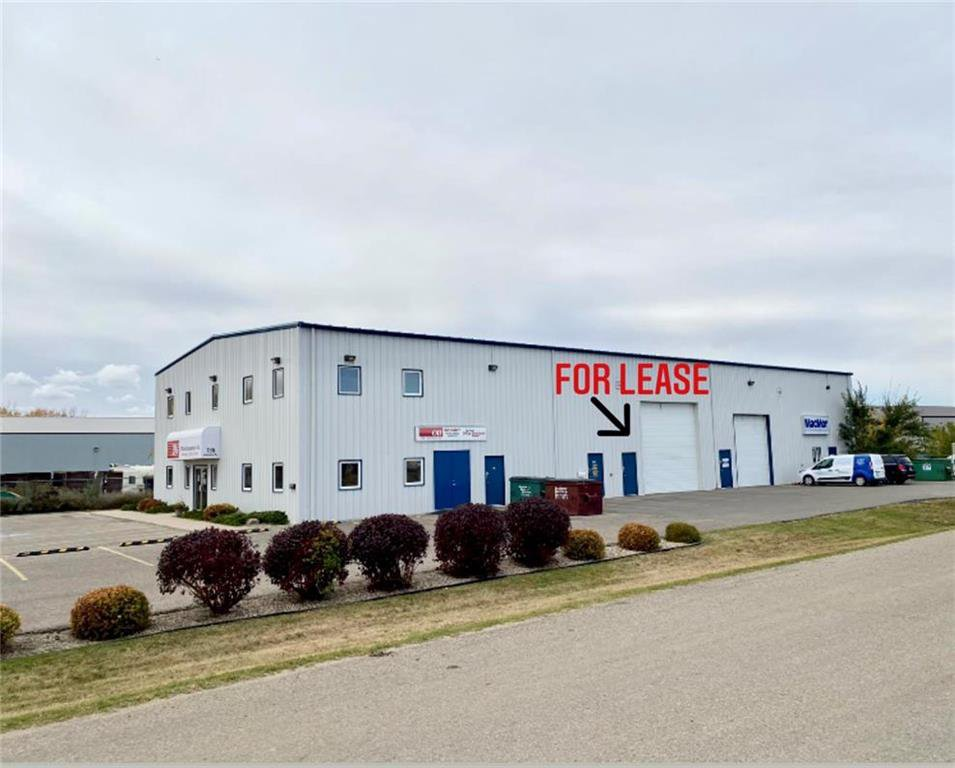 Main Photo: B 135 Industrial Drive in Brandon: Industrial / Commercial / Investment for lease (C18)  : MLS®# 202025463