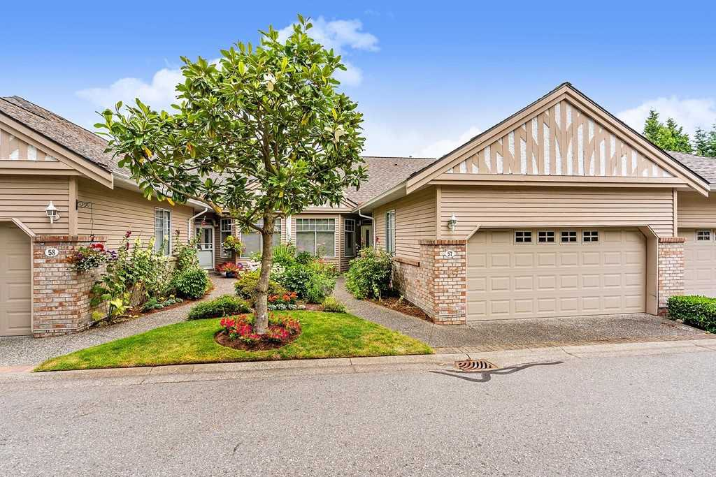 "Main Photo: 57 2533 152 Street in Surrey: Sunnyside Park Surrey Townhouse for sale in ""Bishops Green"" (South Surrey White Rock)  : MLS®# R2480519"