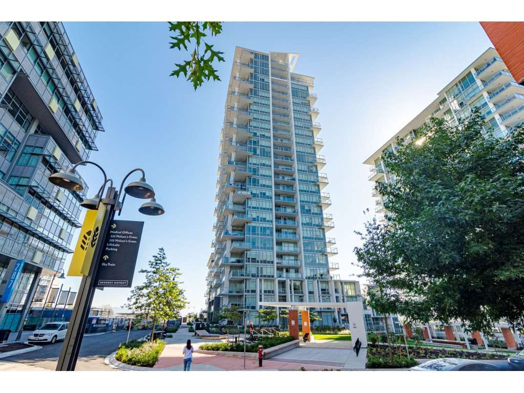 "Main Photo: 2404 258 NELSON'S Court in New Westminster: Sapperton Condo for sale in ""THE COLUMBIA AT BREWERY DISTRICT"" : MLS®# R2502597"