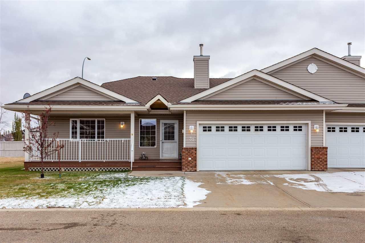 Main Photo: 31 8602 SOUTHFORT Drive: Fort Saskatchewan House Half Duplex for sale : MLS®# E4218887